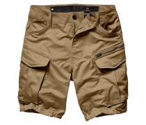 Rovic Zip Loose 1/2/Premium Micro Straight Twill - Shorts - Beige