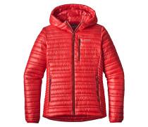 Ultralight Down - Kapuzenjacke für Damen - Rot
