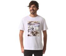 Graphic Palms Regularfit - T-Shirt für Herren - Weiß