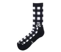 Buffalo Plaid - Socken für Herren - Schwarz