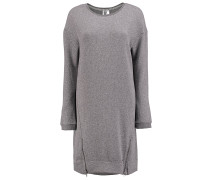 Sweat - Kleid für Damen - Grau