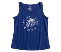 Rainy Tropic Clothing - Top für Mädchen - Blau