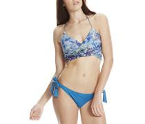 Tie - Bikini Set für Damen - Blau