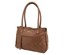 City Girl - Handtasche für Damen - Braun