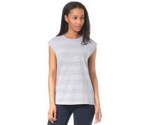 Striped - T-Shirt - Grau