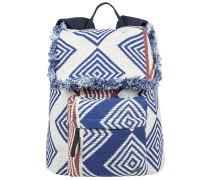 Feeling Latino - Rucksack für Damen - Blau