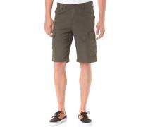 Regular Cargo Shorts - Grün
