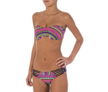 Modern Myth Bandeau - Bikini Set für Damen - Mehrfarbig