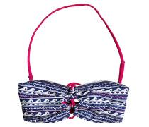 Bandeau - Bikini Oberteil für Damen - Blau