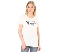 HufeisenkleeM. - T-Shirt für Damen - Weiß