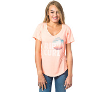Sun And Surf - T-Shirt für Damen - Pink