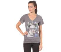 Show Me Your V-Neck S/S T-Shirt - T-Shirt für Damen - Grau