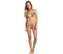 Tropical Dayze Triangle Set - Bikini Set für Damen - Schwarz