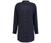 Tencel Long - Hemd für Damen - Blau