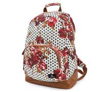 Schoolyard Poly - Rucksack für Damen - Rot