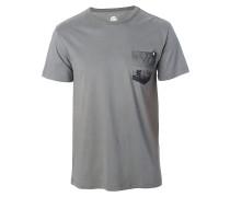 Close Up Pocket - T-Shirt für Herren - Grau