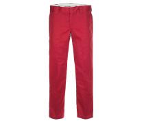 Straight Work - Stoffhose für Herren - Rot