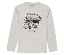 Surf Trip - Langarmshirt für Jungs - Grau