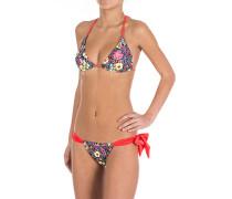 Achimenes Triangel - Bikini Set für Damen - Mehrfarbig