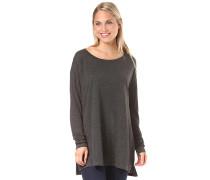 Essentials Winter - Langarmshirt für Damen - Grau