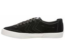 Stockholm Suede Low Sneaker - Schwarz