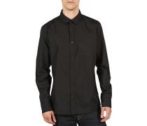 Everett Solid L/S - Hemd für Herren - Schwarz