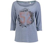 Freedom Long - Langarmshirt für Damen - Blau