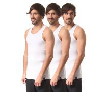 Proof 3 Pack - Unterhemd für Herren - Weiß
