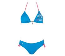 Ina - Bikini Set für Damen - Blau