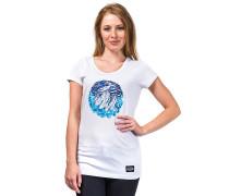 Night Mountain - T-Shirt für Damen - Weiß