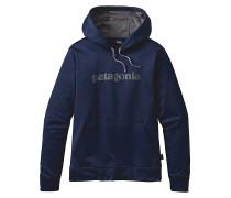 Text Logo Poly Cycle - Kapuzenpullover für Herren - Blau