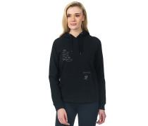 Junse - Kapuzenpullover für Damen - Schwarz