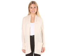 Outside The Lines - Strickjacke für Damen - Beige