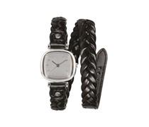 Moneypenny Woven - Uhr für Damen - Schwarz