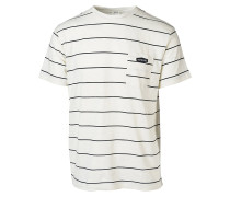Simply Striped - T-Shirt für Herren - Beige