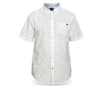 Backyard - Hemd für Herren - Weiß