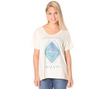 Loose - T-Shirt für Damen - Weiß