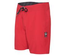 Lido Solid Mod 18 - Boardshorts für Herren - Rot