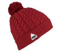 Mini Cable - Mütze - Rot
