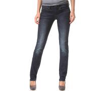 Mid Mid Straight Neutro Superstretch - Jeans für Damen - Blau