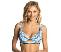 Beach Bazaar U/Wire D Cup - Bikini Oberteil - Blau