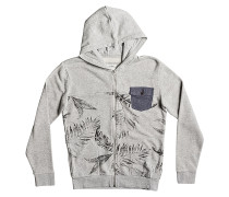 Mahatao Zip - Kapuzenjacke für Jungs - Grau