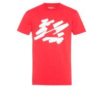 Zimtstern Descript - T-Shirt für Herren - Rot