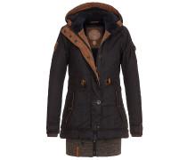 Langes Fädchen, Faules Mädchen - Jacke für Damen - Schwarz