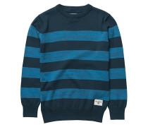All Day Stripes - Strickpullover für Jungs - Blau