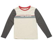 Big Mama Striped - Langarmshirt für Jungs - Beige