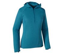 Cap TW Zip Neck - Kapuzenpullover für Damen - Blau