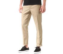 Slim Fit Work - Stoffhose für Herren - Beige