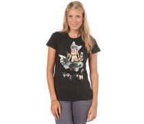 Nana Collage S/S T-Shirt - T-Shirt für Damen - Schwarz