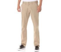 Worker Straight - Stoffhose für Herren - Beige